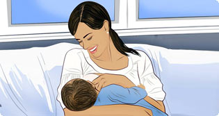 Как отучить ребёнка от груди?